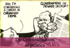 criminals in politics
