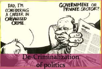 """essay on criminalisation in politics Essay on """"criminalization of politics """" complete essay for class 10, class 12 and graduation and other classes."""