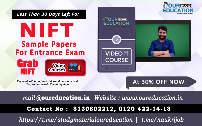 sample paper for nift entrance exam