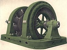 220px-Synchronous_motor-generator_set_for_AC_to_DC_conversion_(Rankin_Kennedy,_Electrical_Installations,_Vol_II,_1909)