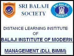 Logo of Balaji Institute of Distance Education in Goa