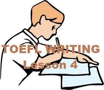 toefl essay writing pattern