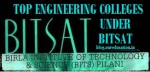 Top Engineering Colleges under BITSAT with Cut Off marks