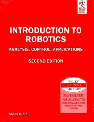introduction to robotics by saeed niku pdf