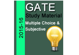 gate 2016 study material
