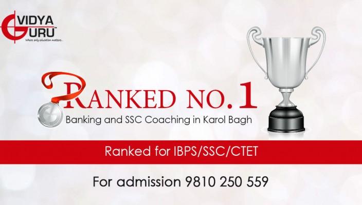 bank exams coaching in Delhi