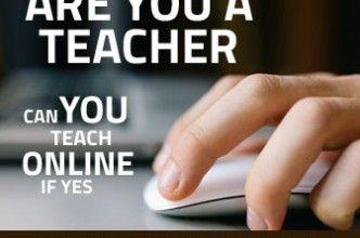 Registor as teacher