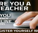 register your self as teacher