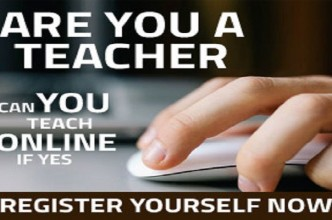 register your self as teacher