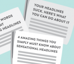 IMPORTANCE OF HEADLINES IN CONTENT WRITING