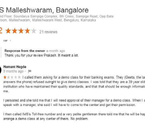 IMS Coaching For SSC In Malleshwaram, Bangalore