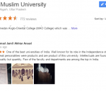 Aligarh Muslim University for IIT and Medical