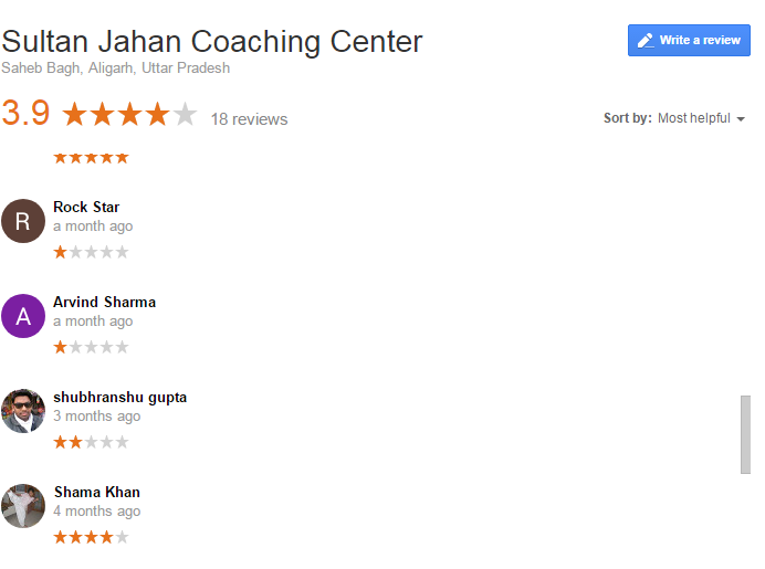 Sultan Jahan Medical Coaching Center in Aligarh