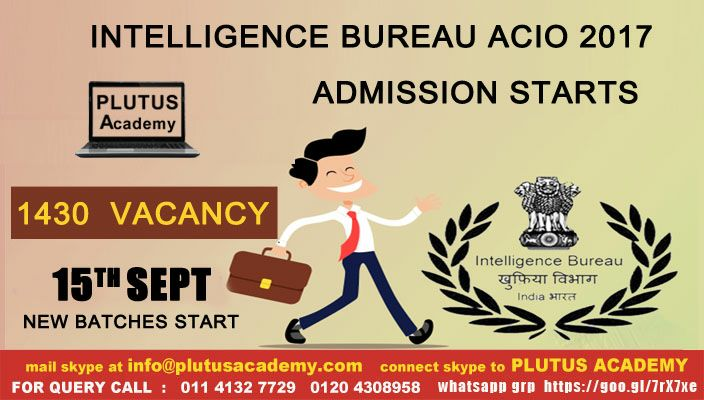 New batch for IB only at Plutus academy . Online batches also available