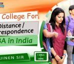 Best College for Distance Correspondence MBA in India
