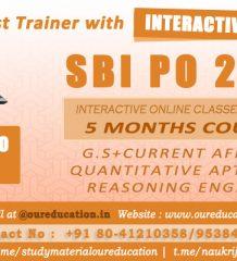 Best SBI PO Coaching Center Jayanagar Bangalore