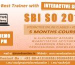 Best SBI SO Coaching Center Bangalore