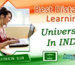 Best Distance Learning University in India