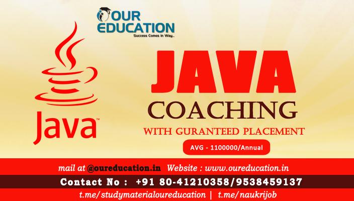 Best Java Training Institutes In Bangalore