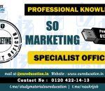 SO Marketing officer