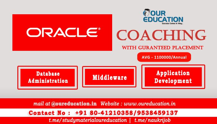 Best Oracle Coaching Institute In Bangalore