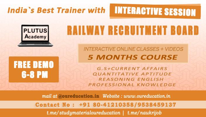 Best Railway Recruitment Board RRB Coaching Center Bangalore