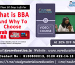 BBA program and why to choose this after 12th