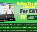 CAT BEST ONLINE COACHING