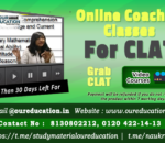 best online coaching for clat