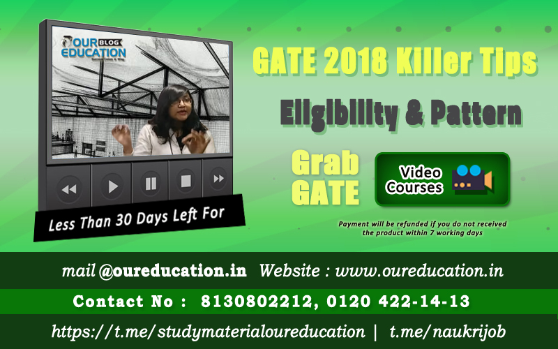 GATE 2018 Killer Tips कैसे करे Crack Chemical Engineering को