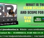 bba syllabus and scope