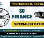 specialist officer finance