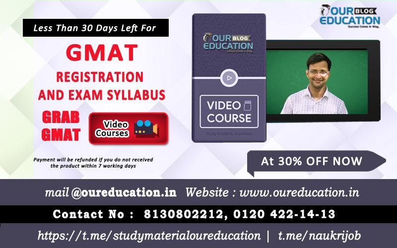 gmat test registration and exam syllabus