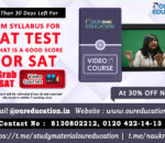syllabus for sat test and result