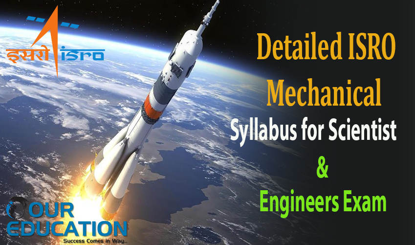 Detailed ISRO Mechanical Syllabus for Scientist and Engineers Exam