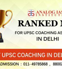TOP 10 IAS Coaching Center in Delhi