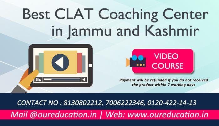 Best CLAT Coaching Center in Jammu and Kashmir