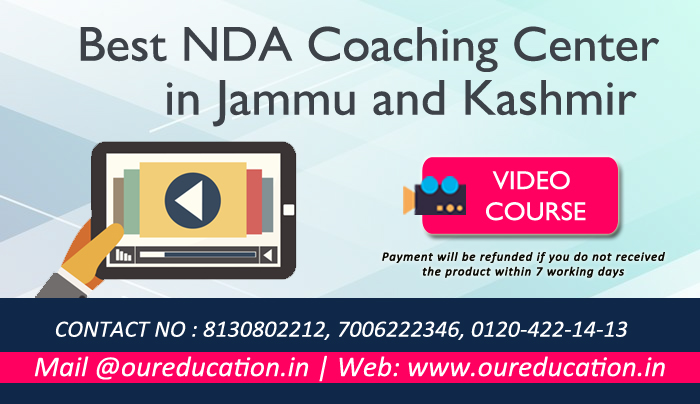Best NDA Coaching Center in Jammu and Kashmir