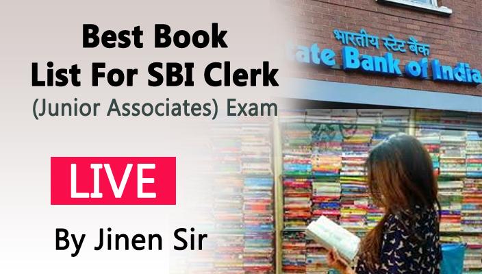 Best Book List For SBI Clerk (Junior Associates) Exam