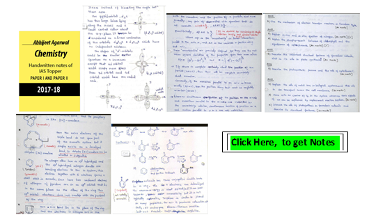 UPSC Chemistry Notes