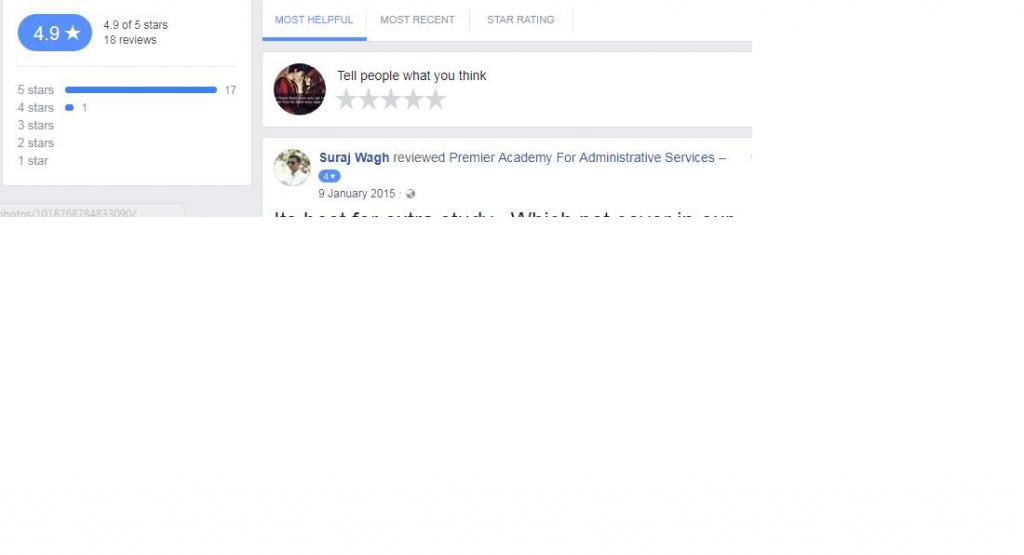 Premier Academy for administrative services Nagpur Facebook Reviews