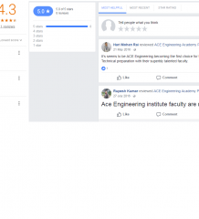 ACE Engineering Academy Patna Reviews