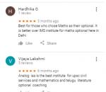 ANALOG IAS Institute Coaching Delhi Reviews