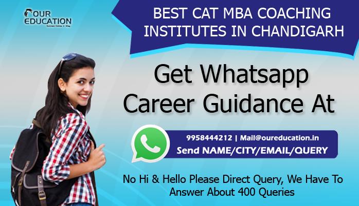 BEST CAT MBA COACHING INSTITUTES IN CHANDIGARH