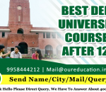 Best Delhi University Courses After 12th