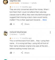 IAS VISION Coaching Delhi Reviews