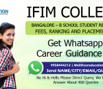 IFIM College, Bangalore - B School Student Reviews, fees, Ranking and Placements