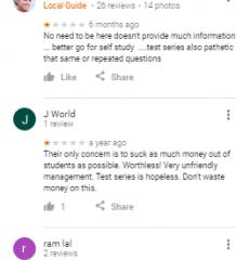 Insight IAS Academy Coaching Delhi Reviews