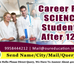 Career for Science Students After 12th