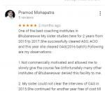 Aarohan Classes SSC Coaching Bhubaneswar Reviews